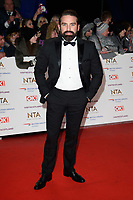 LONDON, UK. January 22, 2019: Ant Middleton at the National TV Awards 2019 at the O2 Arena, London.<br /> Picture: Steve Vas/Featureflash