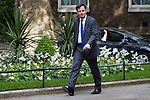 © Joel Goodman - 07973 332324 . 11/05/2015 . London , UK . GREG HANDS arrives at 10 Downing Street this afternoon (11th May 2015) . Photo credit : Joel Goodman