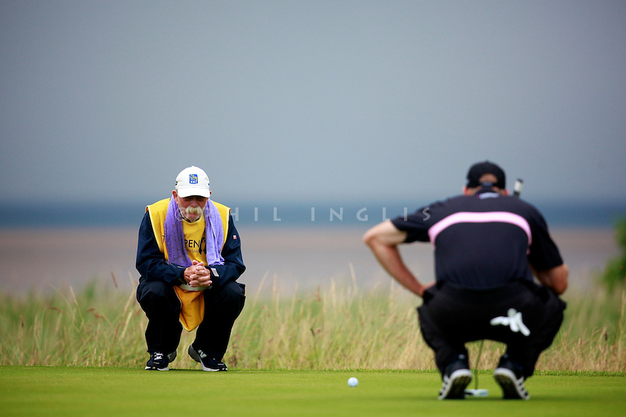 Jim FURYK (USA) in action during the third round of the 143rd Open Championship played at Royal Liverpool Golf Club, Hoylake, Wirral, England. 17 - 20 July 2014 (Picture Credit / Phil Inglis)