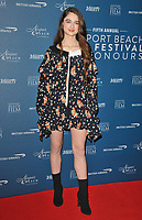 Raffey Cassidy at the Newport Beach Film Festival UK Honours, The Langham Hotel, Portland Place, London, England, UK, on Thursday 07th February 2019.<br /> CAP/CAN<br /> &copy;CAN/Capital Pictures