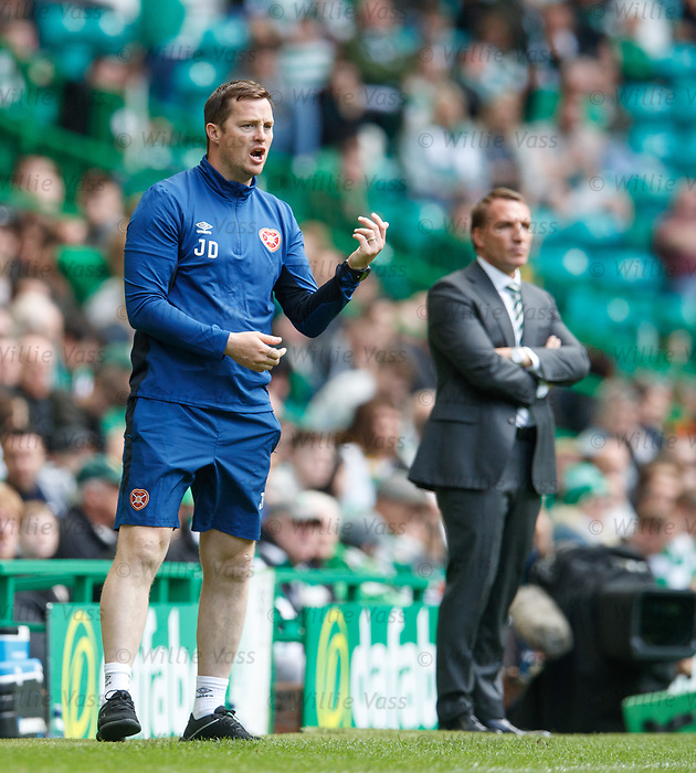Hearts stand in manager Jon Daly
