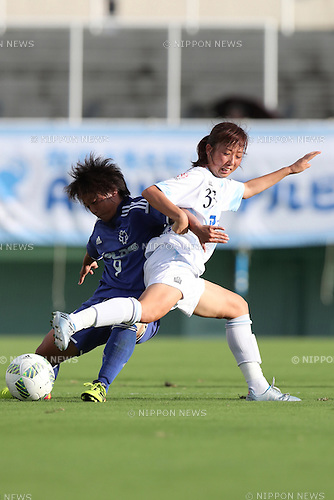 Fumina Katsurama (Albion), <br /> SEPTEMBER 3, 2016 - Football / Soccer : <br /> Plenus Nadeshiko League Cup 2016 Division 2 Final match <br /> between AS Harima Albion 2-0 Nittaidai Fields Yokohama <br /> at Ajinomoto Field Nishigaoka in Tokyo, Japan. <br /> (Photo by AFLO SPORT)