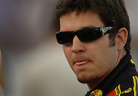 Apr 20, 2006; Phoenix, AZ, USA; Nascar Nextel Cup driver Martin Truex Jr. of the (1) Bass Pro Shops Chevrolet Monte Carlo during qualifying for the Subway Fresh 500 at Phoenix International Raceway. Mandatory Credit: Mark J. Rebilas