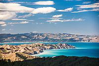 Coastal landscape, Gisborne Region, North Island, New Zealand