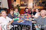 Supporting the Thrashing Cancer bingo night in The Manor Inn, Killorglin on Friday.<br /> L-R Nora O'Connor, Roseanne Fogarty, Sheila O'Connor, Mary O'Connell, Ann Foran, Eilis Conway, Annette O'Sullivan.