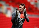 Simon Mignolet of Liverpool during the English Premier League match at Anfield Stadium, Liverpool. Picture date: May 7th 2017. Pic credit should read: Simon Bellis/Sportimage