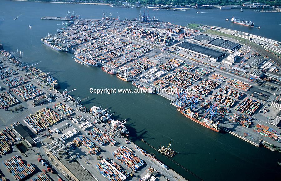 Deutschland, Hamburg, Hafen, Containerhafen Hamburg, Container, Schiffahrt, Burchardkai, Athabastakai, Waltershof, Container Terminal Waltershof, Euro Kai, Predoehlkai