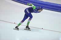 SCHAATSEN: HEERENVEEN: 14-12-2014, IJsstadion Thialf, ISU World Cup Speedskating, Thomas Krol, ©foto Martin de Jong