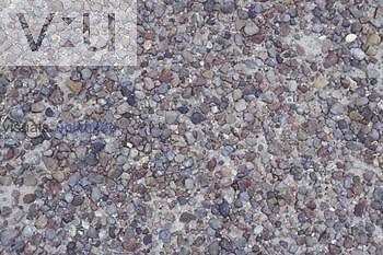Desert pavement Petrified Forest, Arizona, USA