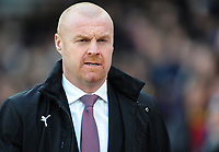 Burnley manager Sean Dyche <br /> <br /> Photographer Ashley Crowden/CameraSport<br /> <br /> The Premier League - Crystal Palace v Burnley - Saturday 13th January 2018 - Selhurst Park - London<br /> <br /> World Copyright &copy; 2018 CameraSport. All rights reserved. 43 Linden Ave. Countesthorpe. Leicester. England. LE8 5PG - Tel: +44 (0) 116 277 4147 - admin@camerasport.com - www.camerasport.com
