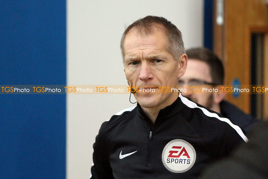 The 4th official Mr M George during Colchester United vs Port Vale, Sky Bet EFL League 2 Football at the Weston Homes Community Stadium on 23rd December 2017
