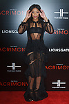"""Actress Ajiona Alexus arrives on the red-carpet for Tyler Perry""""s ACRIMONY movie premiere at the School of Visual Arts Theatre in New York City, on March 27, 2018."""