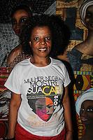 RIO DE JANEIRO, RJ, 24 JULHO 2012 - DIA DA MULHER NEGRA - DEscritora Ana Cruz durante projeto literario em comemoracao ao Dia da Mulher Negra da America Latina e Caribe no Auditorio Gilberto Freyre no Palacio Gustavo Capanema na cidade do Rio de Janeiro nessa terça-feira, 24. FOTO: BARBARA OLYVEYRA - BRAZIL PHOTO PRESS.