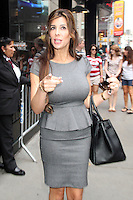 NEW YORK CITY, NY - August 07, 2012: Siggy Flicker at Good Afternoon America in New York City. &copy; RW/MediaPunch Inc. /NortePhoto.com<br />