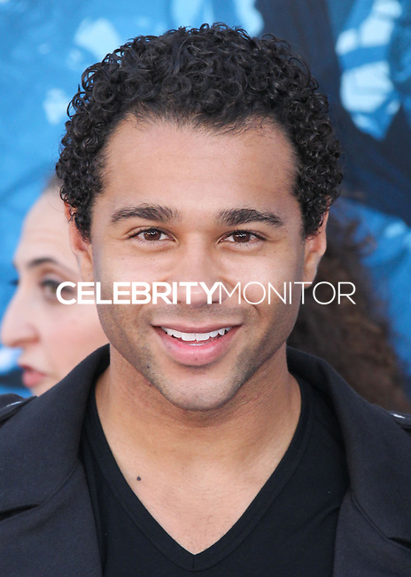 HOLLYWOOD, LOS ANGELES, CA, USA - MAY 28: Corbin Bleu at the World Premiere Of Disney's 'Maleficent' held at the El Capitan Theatre on May 28, 2014 in Hollywood, Los Angeles, California, United States. (Photo by Xavier Collin/Celebrity Monitor)