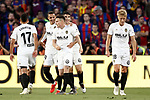 Valencia CF's players celebrate goal during Spanish King's Cup Final match. May 25,2019. (ALTERPHOTOS/Carrusan)