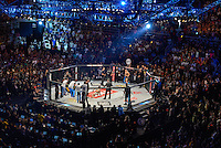 RIO DE JANEIRO, RJ, 01.08.2015 - UFC-RJ - Ronda Rousey vence Bethe Correia em luta no card principal do UFC 190 realizada no HSBC Arena, na zona oeste, neste sábado (01). (Foto: João Mattos / Brazil Photo Press)