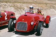 August 26th 1984, Laguna Seca Raceway, CA. 1939 Ferrari. This was the largest concentration of Ferrari, more than 3.000 models and proud owners show their cars and race with them.