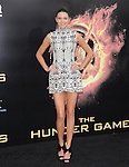 Kendall Jenner attends the Lionsgate World Premiere of The hunger Games held at The Nokia Theater Live in Los Angeles, California on March 12,2012                                                                               © 2012 DVS / Hollywood Press Agency