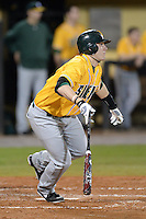 Siena Saints infielder Brian Fay (28) during the season opening game against the Central Florida Knights at Jay Bergman Field on February 14, 2014 in Orlando, Florida.  UCF defeated Siena 8-1.  (Mike Janes/Four Seam Images)