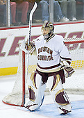 Cory Schneider of Marblehead, Massachusetts, shared Boston College's Norman F. Dailey Memorial Award for team MVP in 2005-06.  The junior goaltender was drafted 26th overall by the Vancouver Canucks in the 2004 NHL Entry Draft. The Eagles of Boston College defeated the Falcons of Bowling Green State University 5-1 on Saturday, October 21, 2006, at Kelley Rink of Conte Forum in Chestnut Hill, Massachusetts.<br />