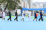 General view, <br /> SEPTEMBER 10, 2016 - Triathlon : <br /> Men's Individual Paratriathlon PT2 Medal Ceremony<br /> at Fort Copacabana<br /> during the Rio 2016 Paralympic Games in Rio de Janeiro, Brazil.<br /> (Photo by AFLO SPORT)