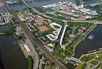 Veddel: EUROPA, DEUTSCHLAND, HAMBURG, (EUROPE, GERMANY), 21.06.2016: Der Hamburger Stadtteil Veddel