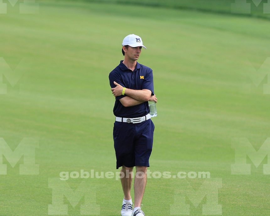 University of Michigan men's golf finished in third place at the 2011 NCAA National Championships in Stillwater, OK, on June 2, 2011.