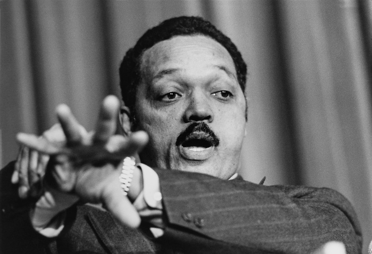 Presidential Candidate Rev. Jesse Jackson at CDV conference. (Photo by Maureen Keating/CQ Roll Call via Getty Images)