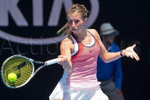 25.01.2016. Melbourne Park, Melbourne, Australia.   Annika Beck, Australian Open 2016 Tennis