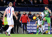 Manager Francesco Guidolin of Swansea City during the Barclays Premier League match between West Bromwich Albion and Swansea City at The Hawthorns on the 2nd of February 2016