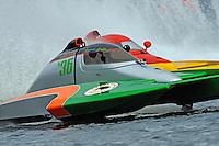"Austin Eacret, S-36 and J. P. Squires, S-83 ""Mega Bucks"" (2.5 Litre Stock hydroplane(s)"