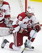 Ryan Grimshaw (Harvard - 6) - The Harvard University Crimson defeated the Dartmouth College Big Green 4-1 (EN) on Monday, January 18, 2010, at Bright Hockey Center in Cambridge, Massachusetts.