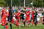 20.07.2019, Heinz Detmar Stadion, Lohne, Interwetten Cup 1. FC Köln vs SV Werder Bremen<br /> <br /> im Bild / picture shows <br /> <br /> Vincent Koziello (Neuzugang Koeln #21)<br /> Yuya Osako (Werder Bremen #08)<br /> Rafael Czichos (Neuzugang Koeln #05) <br /> Ludwig Augustinsson (Werder Bremen #05)<br /> Nuri Sahin (Werder Bremen #17)<br /> Niklas Moisander (Werder Bremen #18)<br /> Kevin Möhwald / Moehwald (Werder Bremen #06)<br /> Florian Kainz (Koeln #30)<br /> Foto © nordphoto / Kokenge