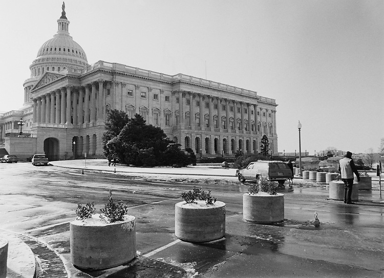 Capitol Hill one of largest historic residential neighborhood. (Photo by CQ Roll Call via Getty Images)