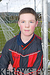 Mastergeehas Kieran Fitzgerald in their U/12 National Cup match in Killarney on Sunday.