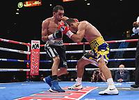 LAS VEGAS - NOVEMBER 23: Victor Slavinskyi v Rigoberto Hermosillo on the Fox Sports PBC Fight Night at the MGM Grand Garden Arena on November 23, 2019 in Las Vegas, Nevada. (Photo by Frank Micelotta/Fox Sports/PictureGroup)