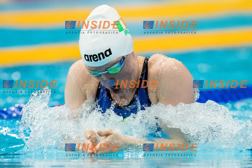 Fiona DOYLE IRL <br /> 200m Breaststroke Preliminary <br /> London, Queen Elizabeth II Olympic Park Pool <br /> LEN 2016 European Aquatics Elite Championships <br /> Swimming<br /> Day 11 19-05-2016<br /> Photo Andrea Staccioli/Deepbluemedia/Insidefoto