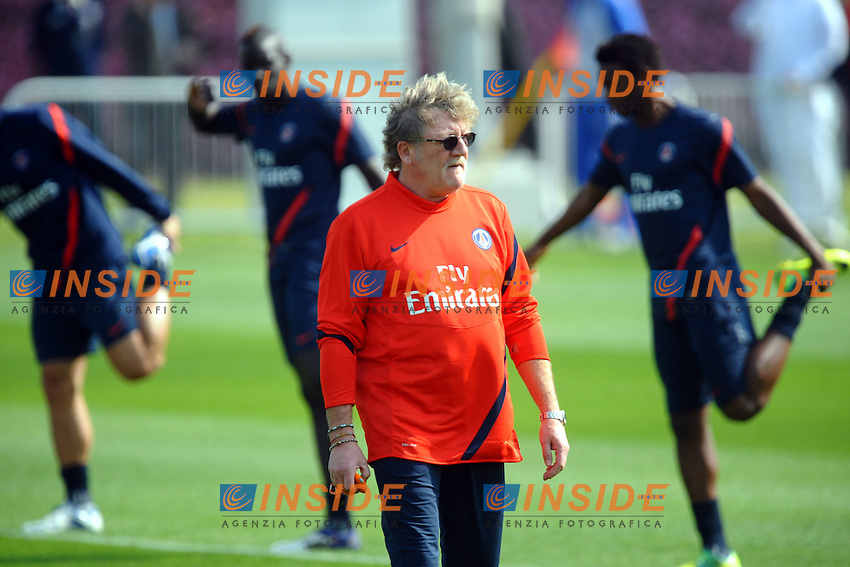 Giovanni Mauri Preparatore Atletico PSG  .Doha 3/1/2012 .Allenamento del PSG Paris Saint Germain.Foto Insidefoto / Anthony Bibard / FEP / Panoramic .ITALY ONLY