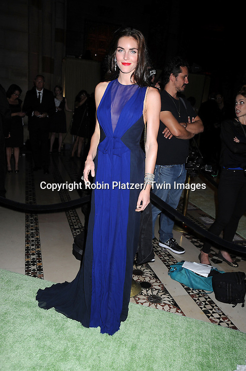 Hilary Rhoda attends the New Yorkers for Children 2012 Fall Gala to benefit youth in foster care on September 18, 2012 at Cipriani 42nd Street in New York City.