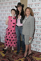 10 March 2019 - Los Angeles, California - Katt Shea, Sophia Lillis, Linda Lavin. World Premiere of 'Nancy Drew and the Hidden Staircase' held at AMC Century City 15. Photo Credit: PMA/AdMedia