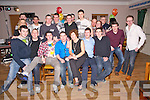 Fintan McCarthy, Aghadoe, Fossa, pictured with some of his family and friends as he celebrated his 21st birthday in the Old Killarney Inn, Aghadoe on Saturday night.