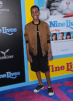 """01 August 2016 - Hollywood, California. Terrell Ransom Jr. . World premiere of """"Nine Lives"""" held at the TCL Chinese Theatre. Photo Credit: Birdie Thompson/AdMedia"""