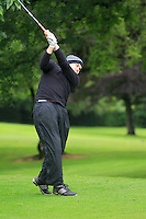 Billy McGarry (Birr) on the 3rd tee during round 1 of The Mullingar Scratch Cup in Mullingar Golf Club on Sunday 3rd August 2014.<br /> Picture:  Thos Caffrey / www.golffile.ie