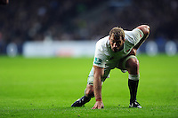 Chris Robshaw of England. Old Mutual Wealth Series International match between England and South Africa on November 12, 2016 at Twickenham Stadium in London, England. Photo by: Patrick Khachfe / Onside Images