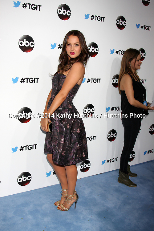 LOS ANGELES - SEP 20:  Camilla Luddington at the TGIT Premiere Event for Grey's Anatomy, Scandal, How to Get Away With Murder at Palihouse on September 20, 2014 in West Hollywood, CA