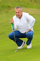 Pat Murray (Clontarf) on the 16th green during Round 2 of The East of Ireland Amateur Open Championship in Co. Louth Golf Club, Baltray on Sunday 2nd June 2019.<br /> <br /> Picture:  Thos Caffrey / www.golffile.ie<br /> <br /> All photos usage must carry mandatory copyright credit (© Golffile | Thos Caffrey