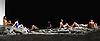 London, UK. 08.02.2017. Tanztheater Wuppertal Pina Bausch presents 'Masurca Fogo' at Sadler's Wells Theatre 09-12 Feb. The dancers are:  Regina Advento, Pablo Aran Gimeno, Emma Barrowman,Rainer Behr, Andrey Berezin, Michael Carter, Çağdaş Ermis, Silvia Farias Heredia, Jonathan Fredrickson, Ditta Miranda Jasjfi, Daphnis Kokkinos, Cristiana Morganti, Breanna O'Mara, Nazareth Panadero, Julie Shanahan, Oleg Stepanov, Julian Stierle, Fernando Suels Mendoza, Aida Vainieri, Ophelia Young. Photo - © Foteini Christofilopoulou.