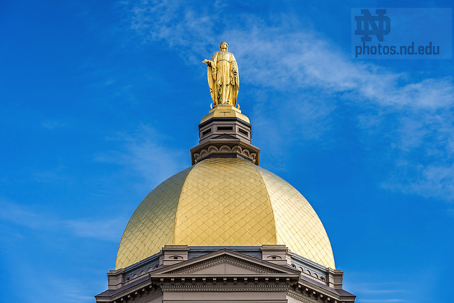 May 27, 2016; Dome (Photo by Matt Cashore/University of Notre Dame)