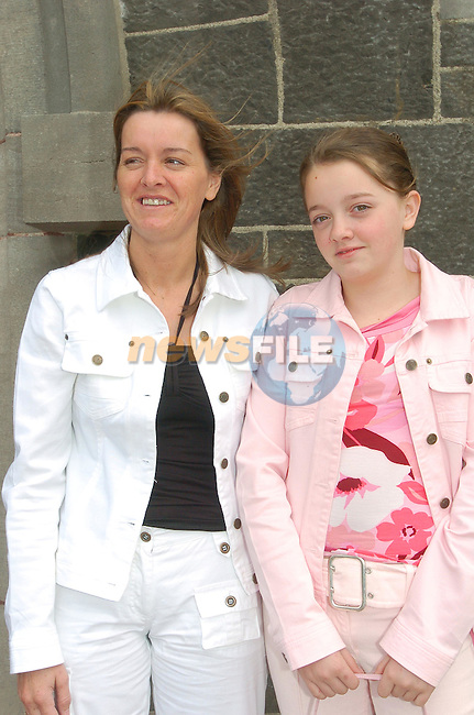 Collon Confirmation.Michelle Thornton and Mom Susan.Photo Fran Caffrey Newsfile.ie..This Picture has been sent to you by Newsfile Ltd..The Studio,.Millmount Abbey,.Drogheda,.Co. Meath,.Ireland..Tel: +353(0)41-9871240.Fax: +353(0)41-9871260.ISDN: +353(0)41-9871010.www.newsfile.ie..general email: pictures@newsfile.ie